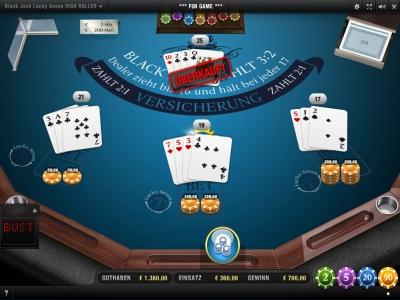 Blackjack Zählen