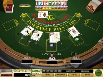 online blackjack tricks
