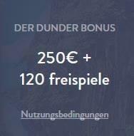 Dunder Bonus klein