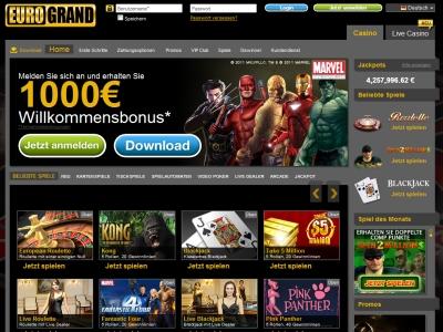 luxury casino euro bonus