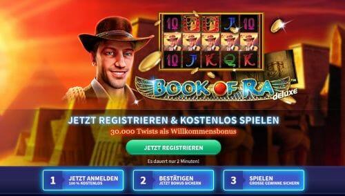 Gametwist Casino Angebot