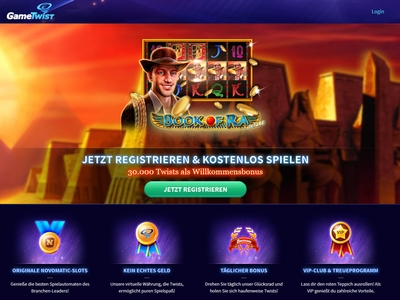 gametwist casino online book of ra spielautomat