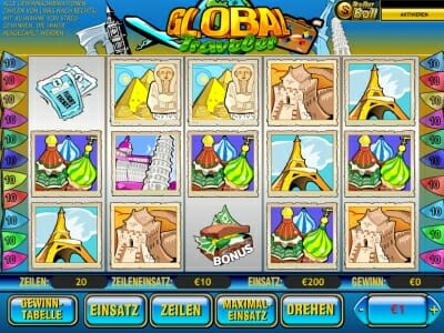 Golden wins slot machine