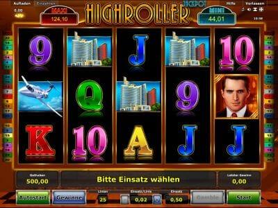 highroller jackpot spielen