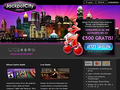 Online Casino Jackpot City - Review