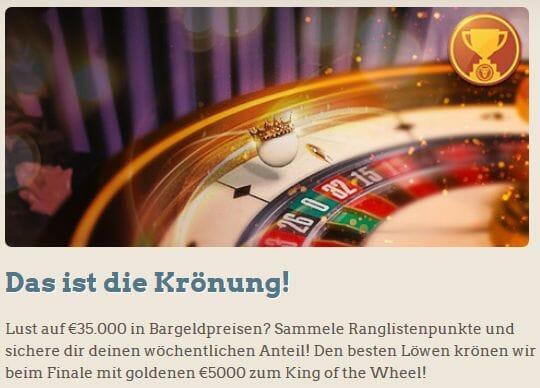 Leo Vegas Bonushilfe