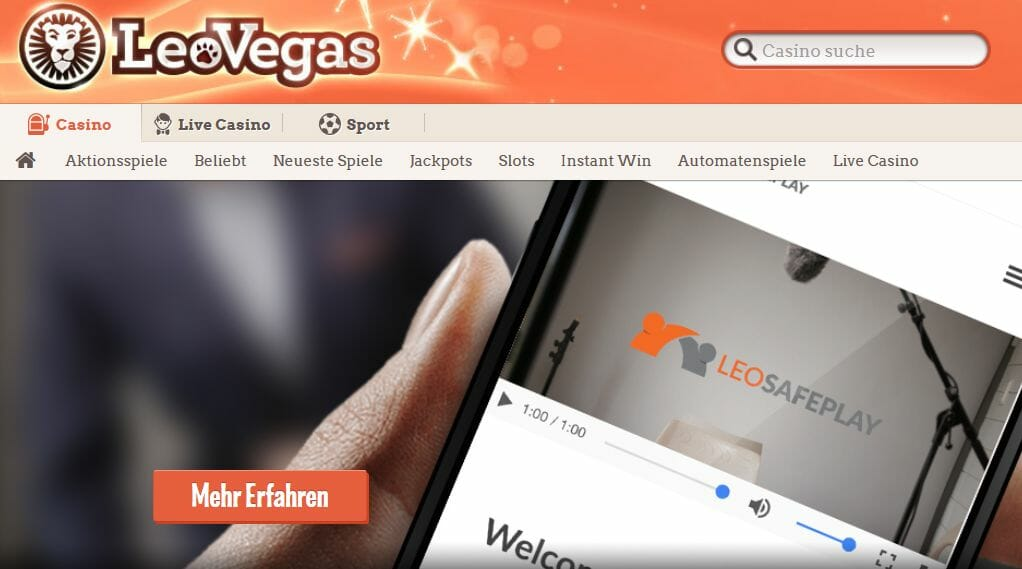 Leo Vegas Vorschau