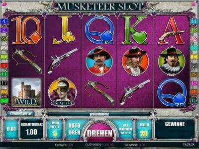 Spiele Musketeer Slot - Video Slots Online