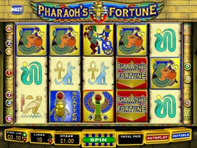 Pharaos Fortune