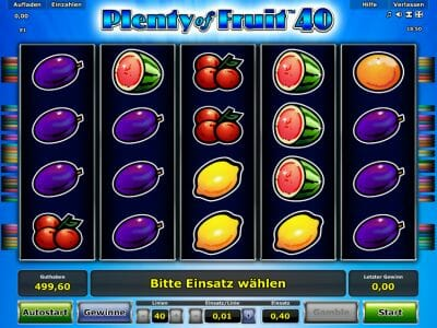 Plenty of Fruit 40