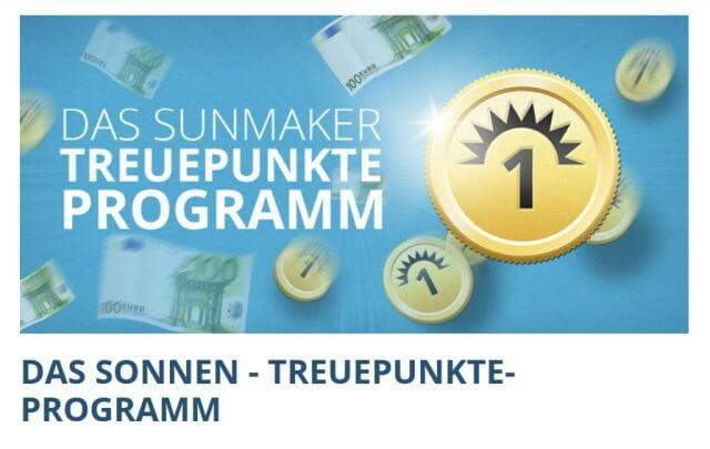 Sunmaker Treueprogramm