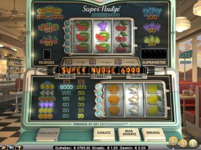 Super Nudge 6000 Slot - Jetzt Kostenlos Online Spielen