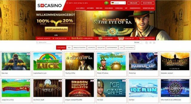Swiss Casino Test
